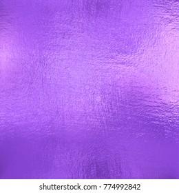 Violet foil texture background