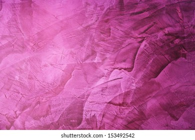 violet painted wall for background.