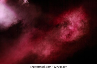 violet party lighting