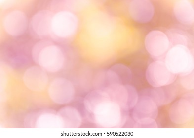 Violet purple bokeh out of focus background from nature forest