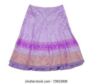 violet skirt