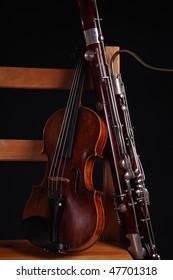 violin + bassoon