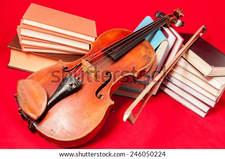 the red violin book