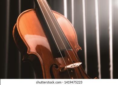 Violin. Cello. Classical music concert.