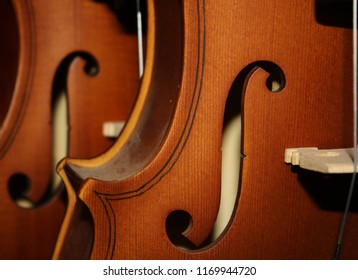 violin, holes in violins