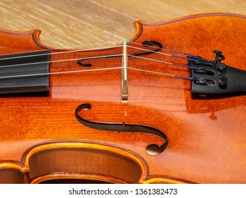 Violin, also known informally as a fiddle, is a wooden string instrument in the violin family. Most violins have a hollow wooden body. It is the smallest and highest-pitched instrument in the family