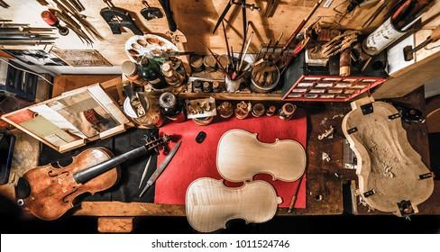Violin maker workshop 3