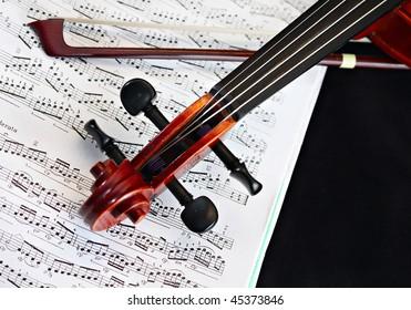 violin music classic string instrument