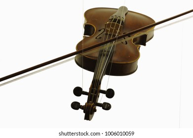 violin string instruments objects isolated