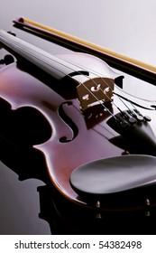 Violin. studio photo.