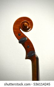 Violin Viola scroll
