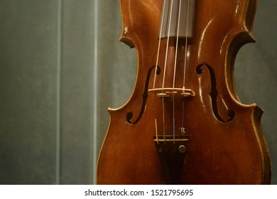 Violins in various poses and details
