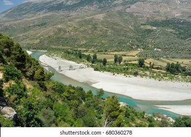 Viosa River, Albania