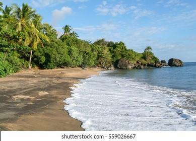 Virgen Boueni beach of Mayotte island, France