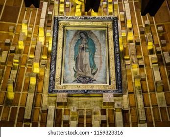 Virgen de Guadalupe.