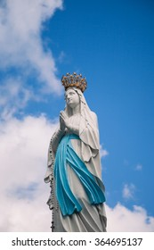 Virgin of Lourdes, High Pyrenees, France
