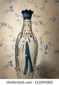 virgin Mary bottle