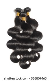 virgin remy body wave black human hair weave extensions