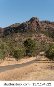 Virgin Rock at Mount Zamia, Minerva Hills National Park, near Springsure, Queensland, Australia.