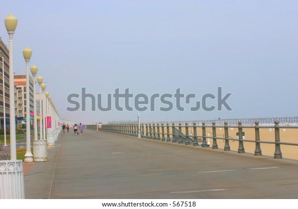 Virginia Beach Boardwalk Stock Photo (Edit Now) 567518