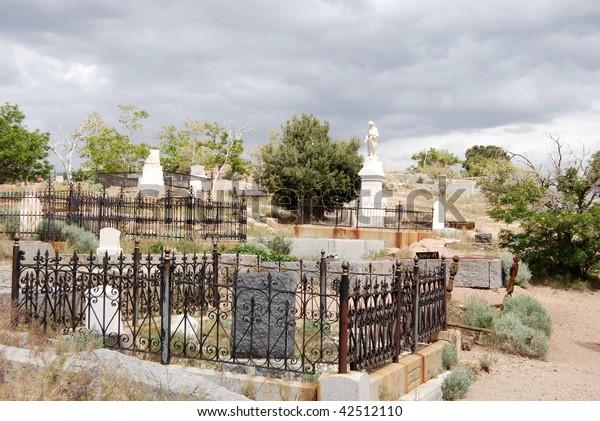 Virginia City, Nevada Graveyard