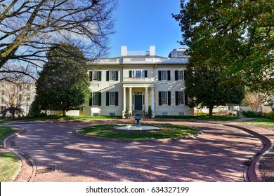Virginia Governor's Mansion in Richmond, Virginia.