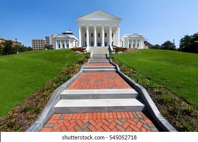 The Virginia State Capitol Building in Richmond