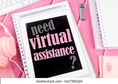 Virtual assistant, need virtual assistance? Feminine desk
