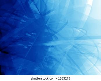Virtual blue grunge background