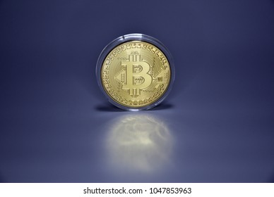 Virtual currency bit coin.