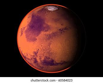 Virtual Planets Mars Planet 02