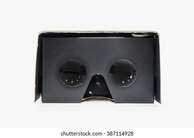 Virtual reality cardboard glasses