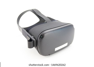Virtual reality (VR) goggles used to play 3D games