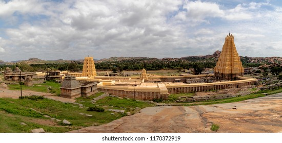 Virupaksha Temple in Hampi India.Virupaksha Temple is located in Hampi in Bellary district of Karnataka state.
