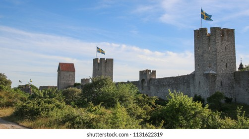 Visby City Wall, Gotland Sweden.