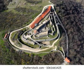 Visegrad aerial landscape
