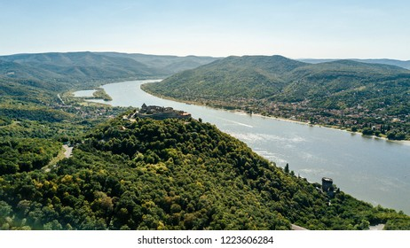 Visegrad castle and the Danube