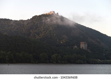 The Visegrad castle - viewed from Danube bend, Hungary