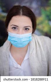 Viseu de Sus, Maramures / Romania - September 20 2020: Mask protection against covid virus