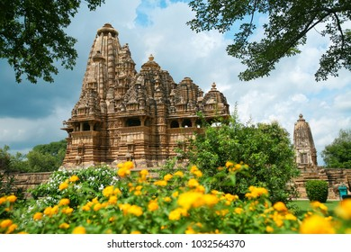 Vishwanath Temple, Western Group of Temples, Khajuraho, Madhya Pradesh, India. it's an UNESCO world heritage site.