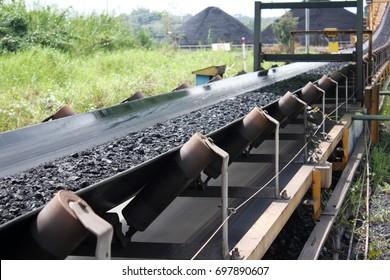 visible conveyor belt and roll conveyor