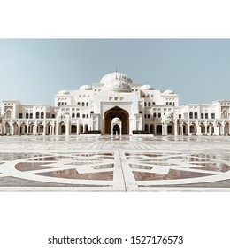 Visiting Abu Dhabi Presidential Palace at day time