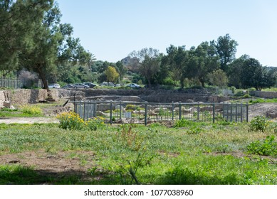 Visiting Ashkelon National Park, Israel
