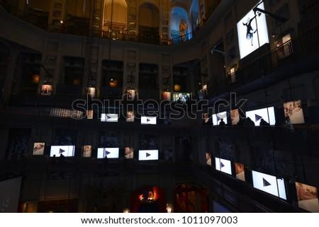Museo Del Cinema.Visiting Museo Del Cinema International Movie Stock Photo Edit Now