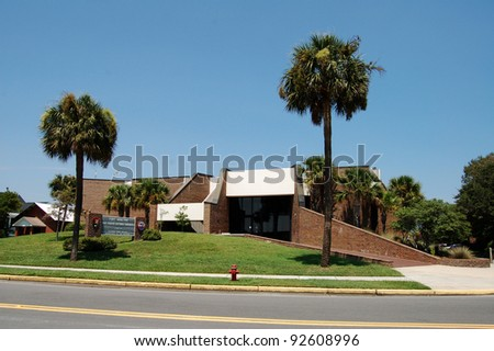 Visitor Center Fort Moultrie Charleston SC Stock Photo (Edit