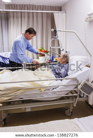 443204d0e2f9d Visitor Recovery Room By Hospital Stock Photo (Edit Now) 138827276 ...