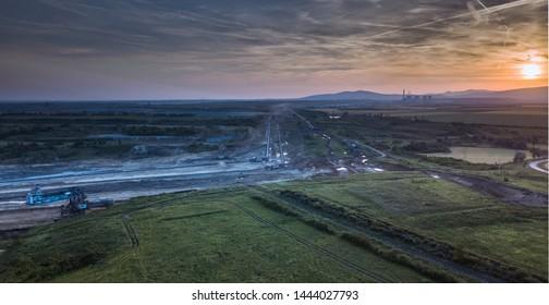Visonta lignit mine and TPP