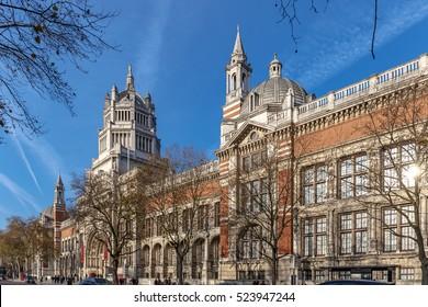 Vistoria and Albert museum in Kensington, London
