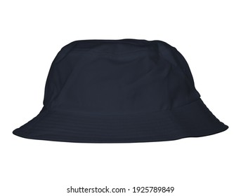 Visualize your design ideas easily with this Amazing Bucket Hat Mockup In Dark Sapphire Color, simple to apply for your amazing artwork.