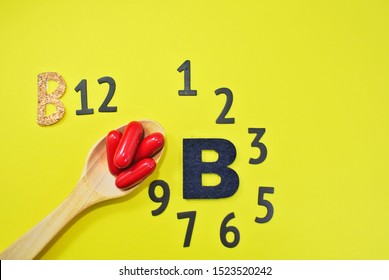Vitamin B complex consists of 8 types of vitamin B B1 thiamine B2 riboflavin B3 niacin B5 pantothenic acid  B6 Pyridoxine ,  B7 biotin , B9  Folic, B12  Cobalamin,